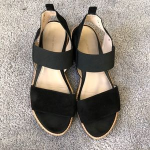 Topical Black suede sandals